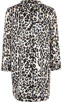 River Island Girls Pink leopard print night dress
