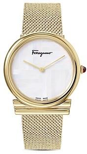 Salvatore Ferragamo Gancini Slim Watch, 34mm