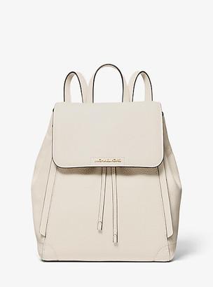 Michael Kors Ginger Medium Pebbled Leather Backpack