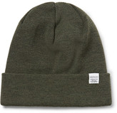Norse Projects Merino Wool Beanie - Army green