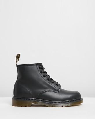 Dr. Martens 101 Nappa 6-Eye Boots - Men's