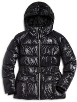 The North Face Girls' Hooded Down Puffer Jacket - Sizes XS-XL