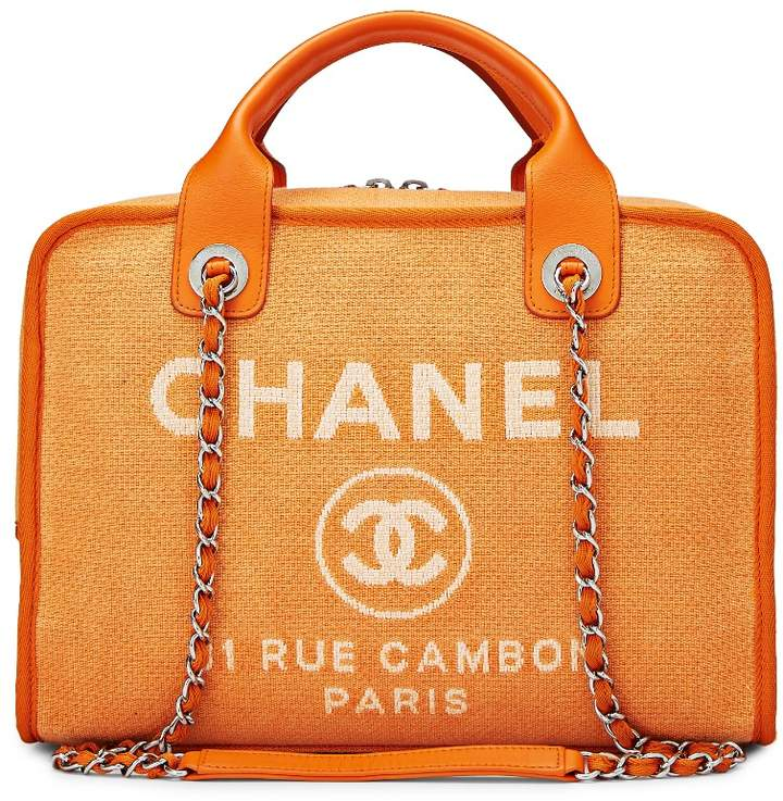 0555f3ab74a6 Chanel Canvas Bag - ShopStyle