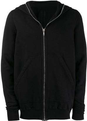 Rick Owens long-length zip hoody