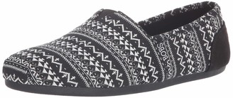 Skechers BOBS from Women's Bobs Plush - Boho Winter. Stretch Aztec Knit Slip on w Memory Foam Shoe