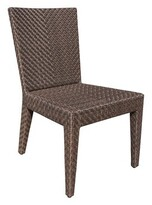 Andover Mills Ferraro Stacking Patio Dining Chair with Cushion
