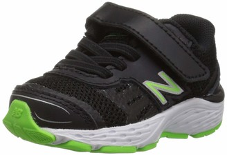 New Balance Boy's 680v5 Hook and Loop Athletic Shoe