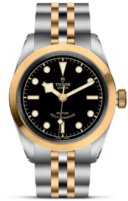Tudor Black Bay Stainless Steel and Yellow Gold Watch 32mm