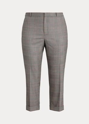 Ralph Lauren Wool-Blend Skinny Pant