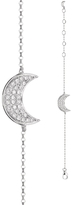 BETTINA JAVAHERI Double Sided Diamond Moon Bracelet