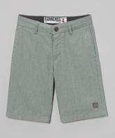Micros Kelly Green Rotation Walk Shorts - Boys