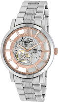 Kenneth Cole New York Watch, Men's Automatic Stainless Steel Bracelet 46mm KC9210