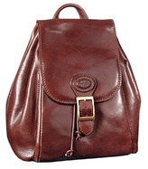 Robe di Firenze Brown Leather Backpack