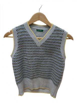Benetton Blue Wool Knitwear