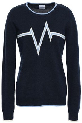 Madeleine Thompson Harlem Intarsia Wool And Cashmere-blend Sweater