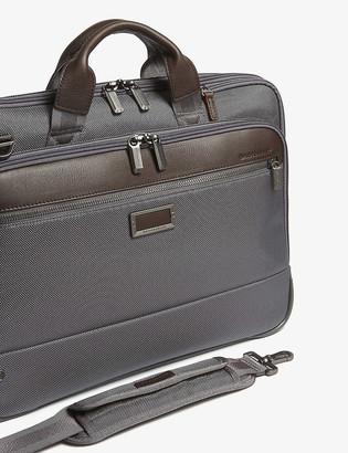 Briggs & Riley @work Slim nylon briefcase
