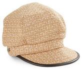 Betmar Tweed Newsboy Cap