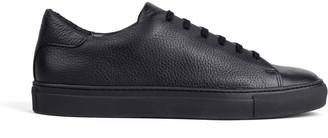 Dalgado Pebble Leather Sneakers Black Laurent