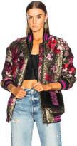 Dolce & Gabbana Floral Jacquard Bomber Jacket