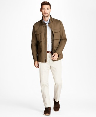 Brooks Brothers Water-Repellent Cotton Jacket