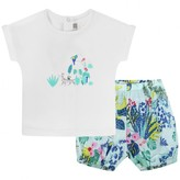 Catimini CatiminiBaby Girls Jungle Top & Shorts Set