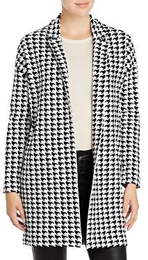 T Tahari Notch Collar Cardigan Sweater