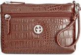 Giani Bernini Croc-Embossed Wristlet, Only at Macy's