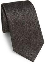 Armani Collezioni Melange Silk Tie