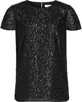 Reiss Fasey - Metallic Top in Black