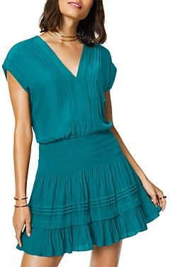 Ramy Brook Vanessa Smocked Waist Dress