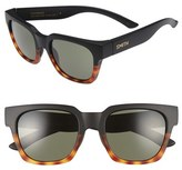 Smith Optics Men's 'Comstock' 51Mm Polarized Sunglasses - Matte Black Fade Tortoise
