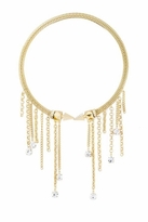 14KT Gold Glam Rock Memory Coil Necklace