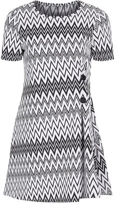 Yumi Zigzag Skater Dress