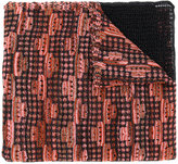 M Missoni contrast scarf - women - Cotton/Polyamide/Metallic Fibre - One Size