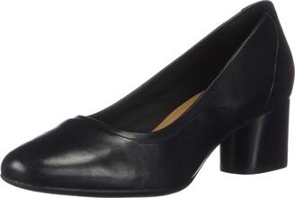 Clarks Women's Un Cosmo Step Block Heel Shoes