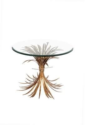N. Fashion You by Horizon Interseas Wheat Gold Antique End Table Fashion You by Horizon Interseas