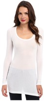 Splendid Stretch Sheer Layers Tunic