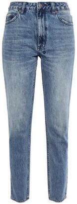 Ksubi Faded High-rise Slim-leg Jeans