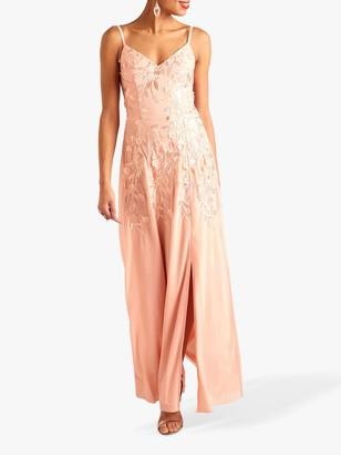 Yumi Party Maxi Dress, Blush
