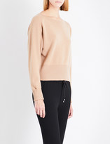 Theory Boat-neck cashmere jumper