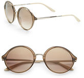 Carrera 52mm Round Sunglasses