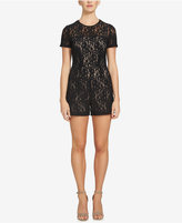 1 STATE 1.STATE Short-Sleeve Lace Romper