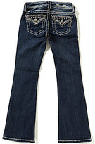 Miss Me Girls Big Girls 7-16 Embroidered Flap Pocket Bootcut Jeans