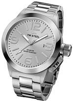 TW Steel 'Canteen' Quartz Stainless Watch, Color:Silver-Toned (Model: CB400)