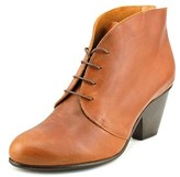 Coclico Dane Women Round Toe Leather Brown Bootie.