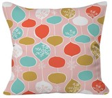"DENY Designs Snowflake Holiday Bobble Throw Pillow - Pink (20"" x 20"