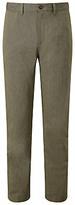 John Lewis Pinpoint Cotton Trousers