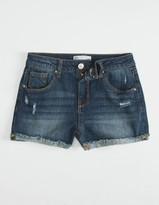 Rsq Mid Rise Cuffed Girls Shorts