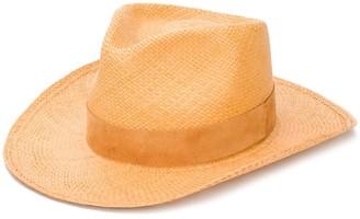 SuperDuper Hats Woven Fedora
