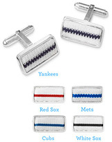 Tokens & Icons Pinstripe Cufflinks